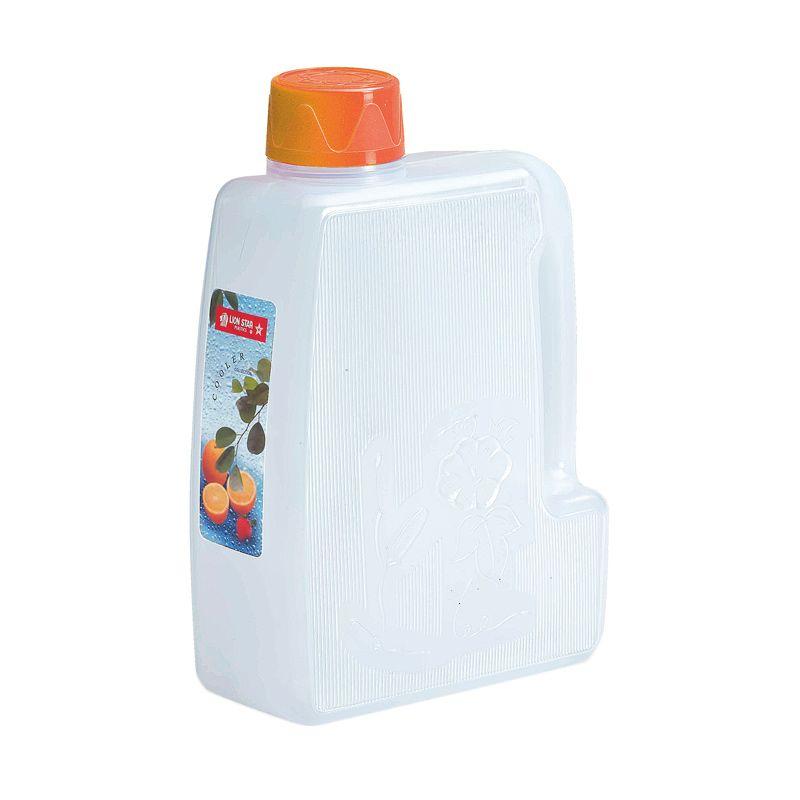 Lion Star Flower Cooler Orange Botol Minum [3.5 L]