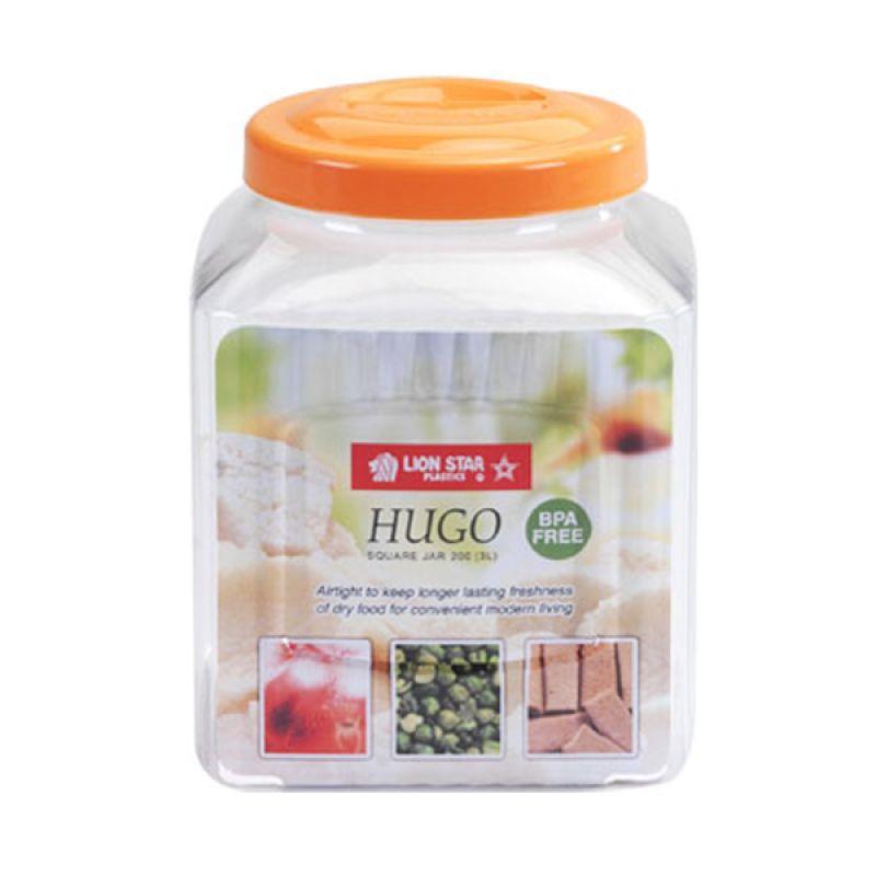 Lion Star Hugo Square Jar 200 Orange Toples [3 L]