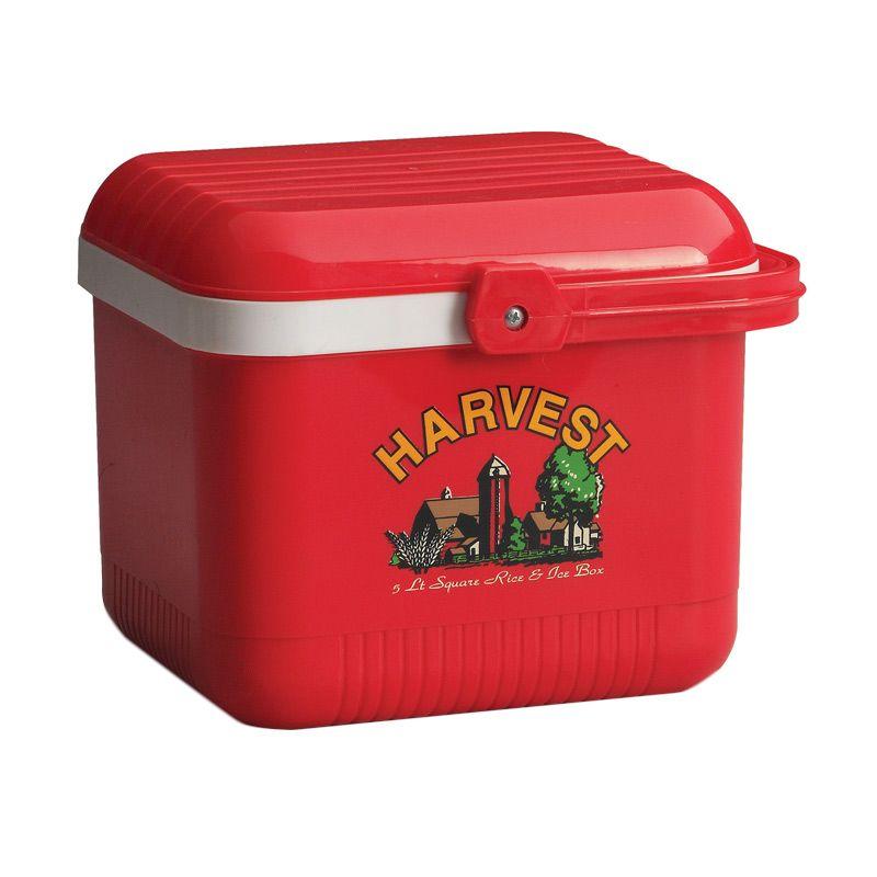 Lion Star Rice & Ice Box Segi Cooler Box Merah [5 L]