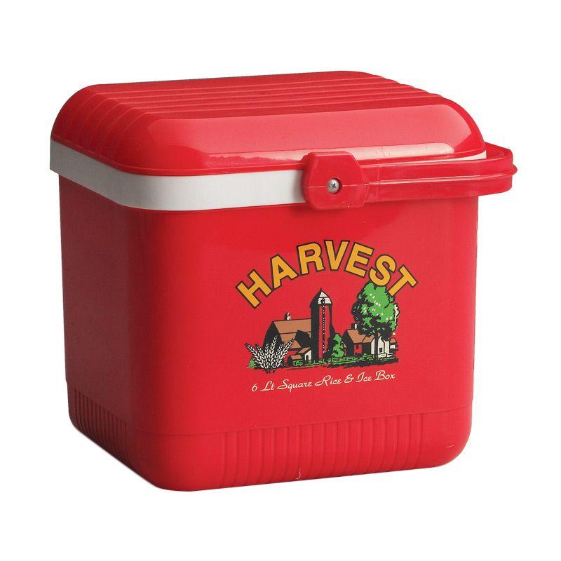 Lion Star Rice & Ice Box Segi Cooler Box Merah [6 L]
