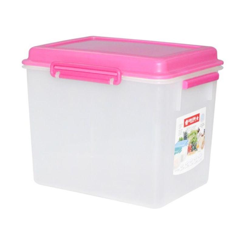 Lion Star Silvo Container 13.8 Liter Pink