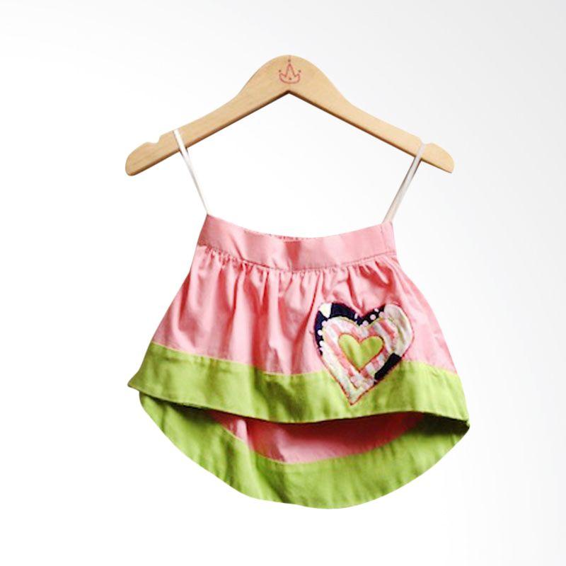 Little Heirloom Brody Skirt Pink Green