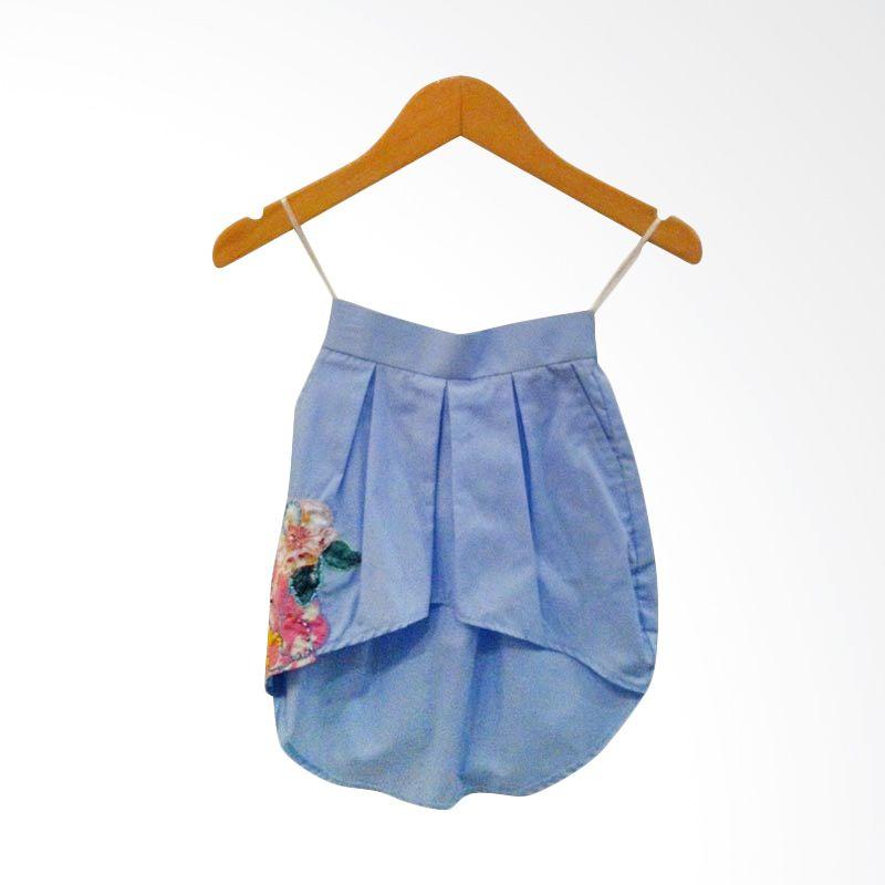 Little Heirloom Leena Blue Skirt