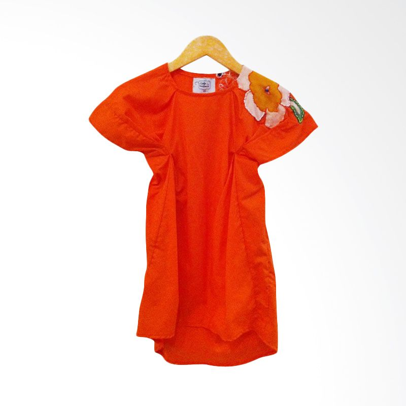 Little Heirloom Ruca Dress Orange