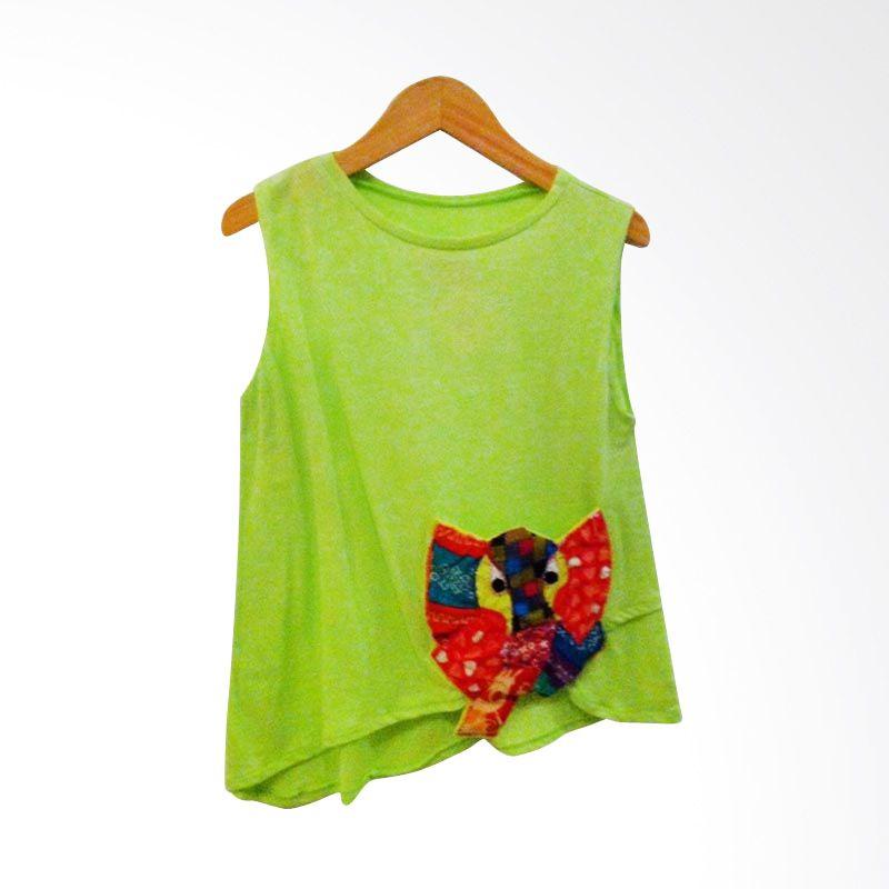 Little Heirloom Tatia Shirt Lime Green