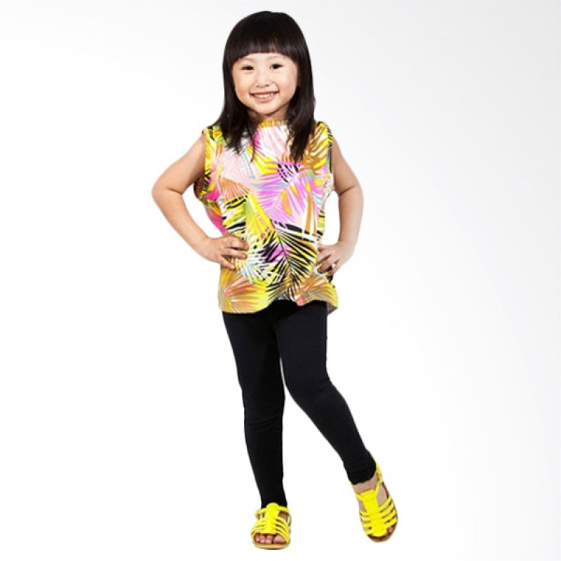 Little Superstar Bahama Top Yellow