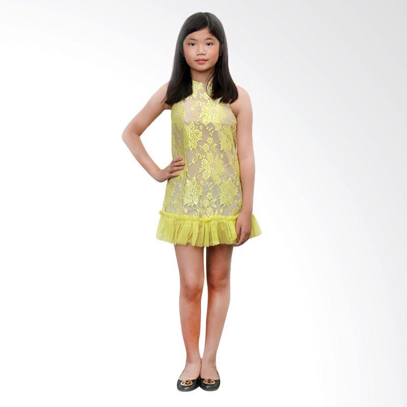 Little Superstar Fleur Yellow Dress Anak