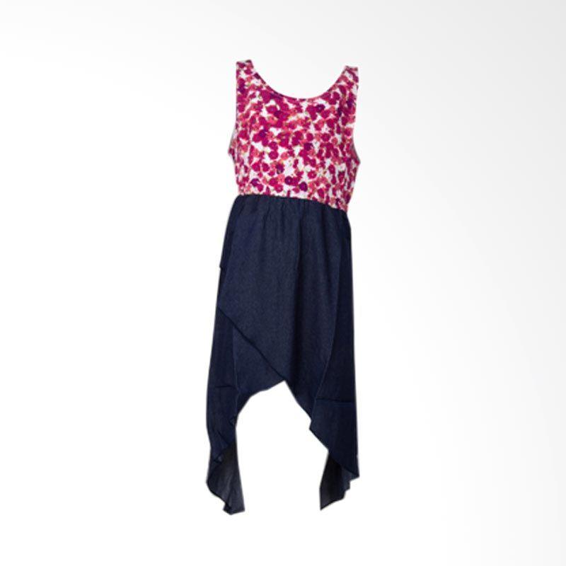 Little Superstar Leopard Maxi D Flower M Pink Blue Dress Anak