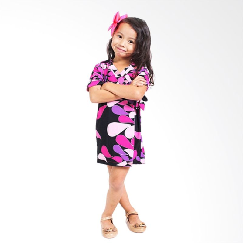 Little Superstar Lira Kimono Dress Purple