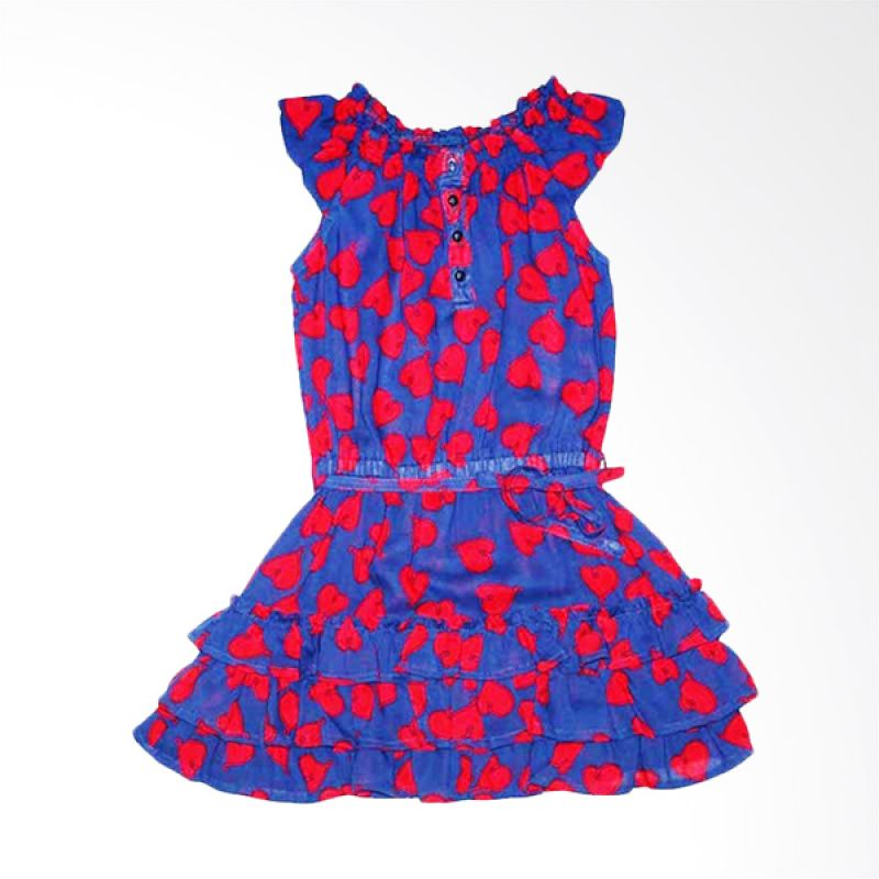 Little Superstar Lovely Dress Blue