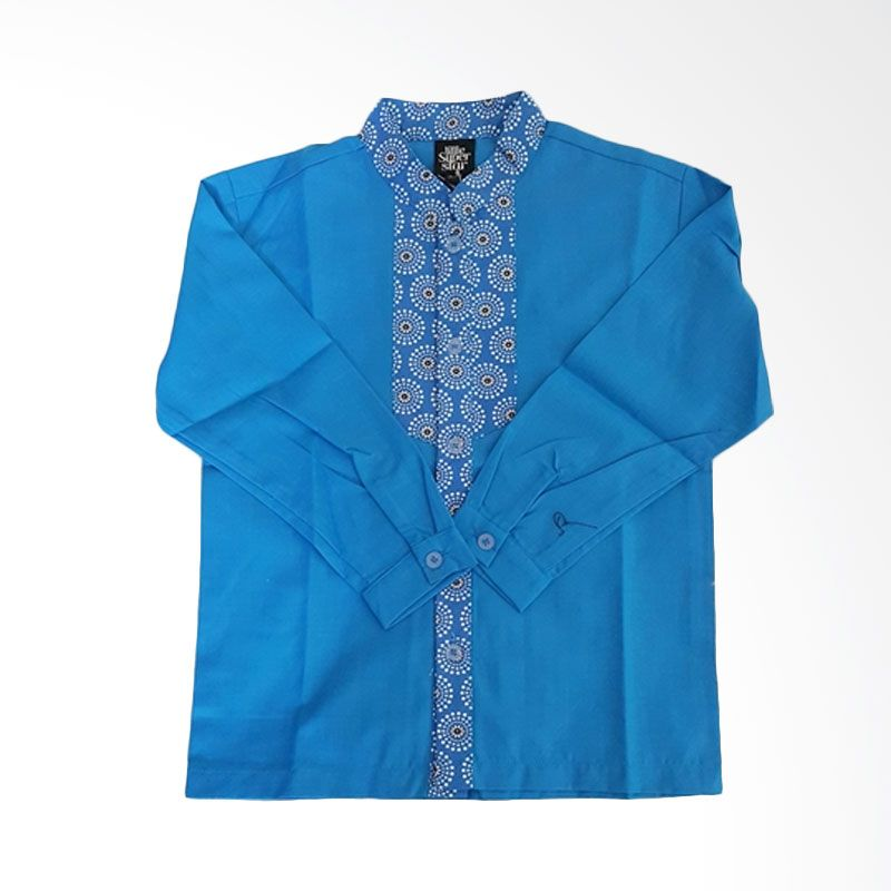 Little Superstar Rama Batik Blue Baju Muslim Anak