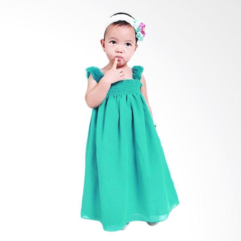 Little Superstar Thalia Dress Green