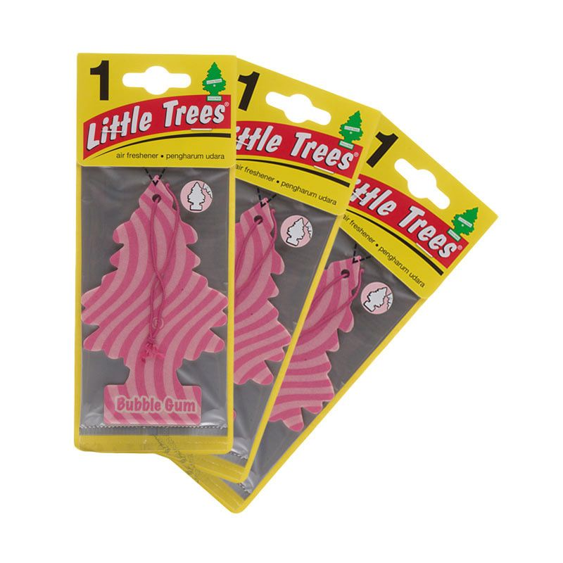 Little Tree Hanging Aroma Buble Gum Pengharum Mobil [3 Pcs]