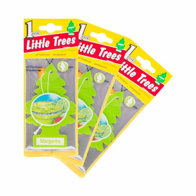 Little Tree Hanging Aroma Margarita 3 Pcs