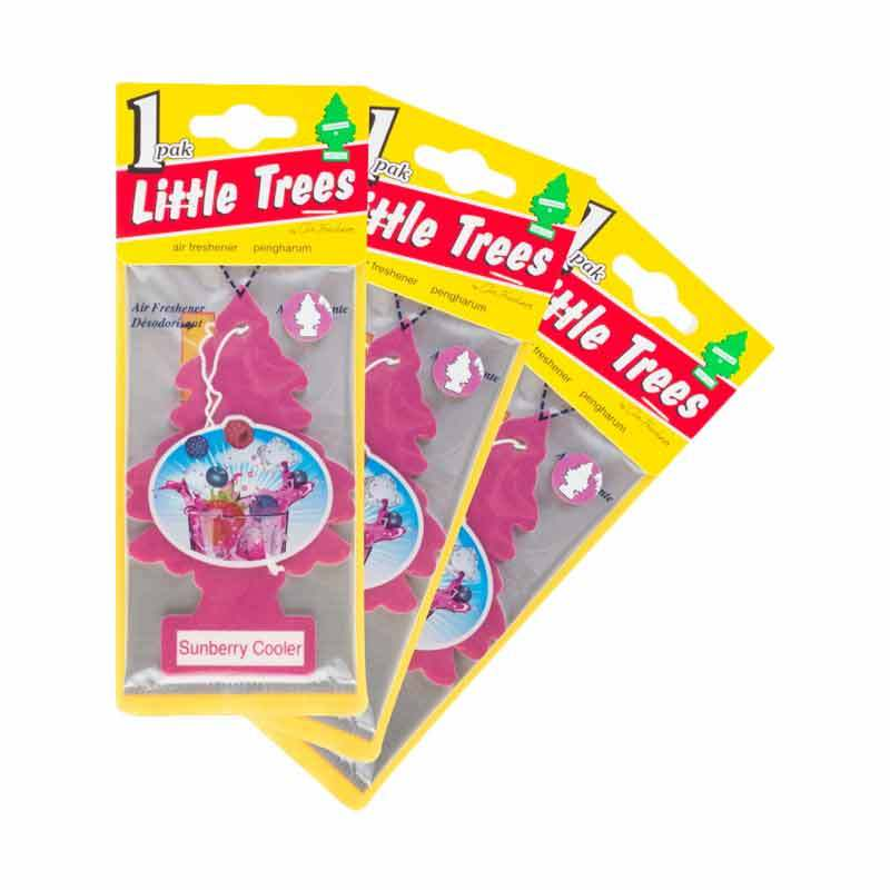 Little Tree Hanging Aroma Sunberry Cooler 3 Pcs