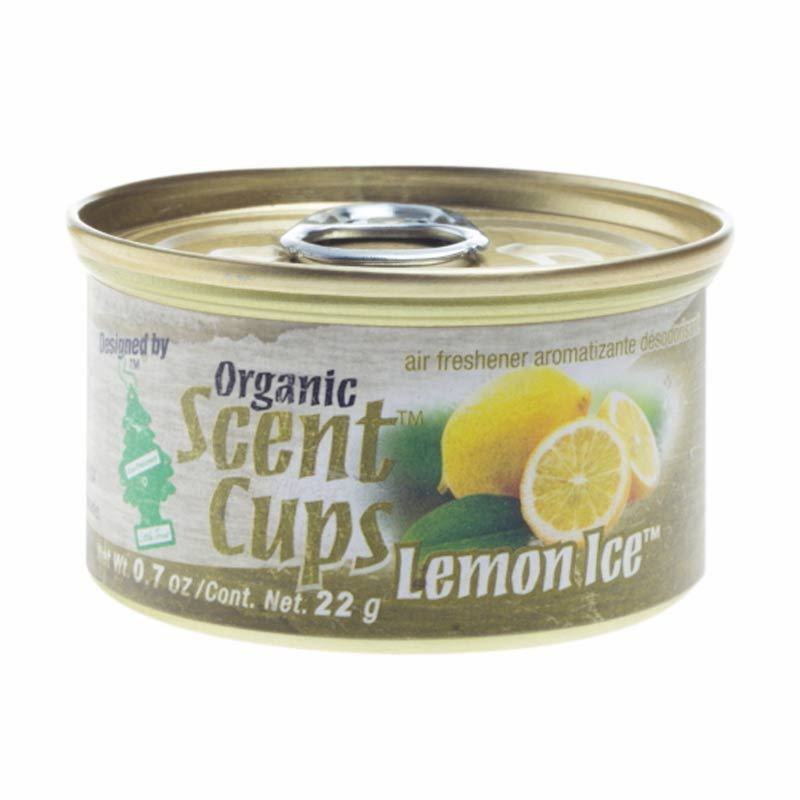 Little Tree Organic Scent Cups Aroma Lemon Ice