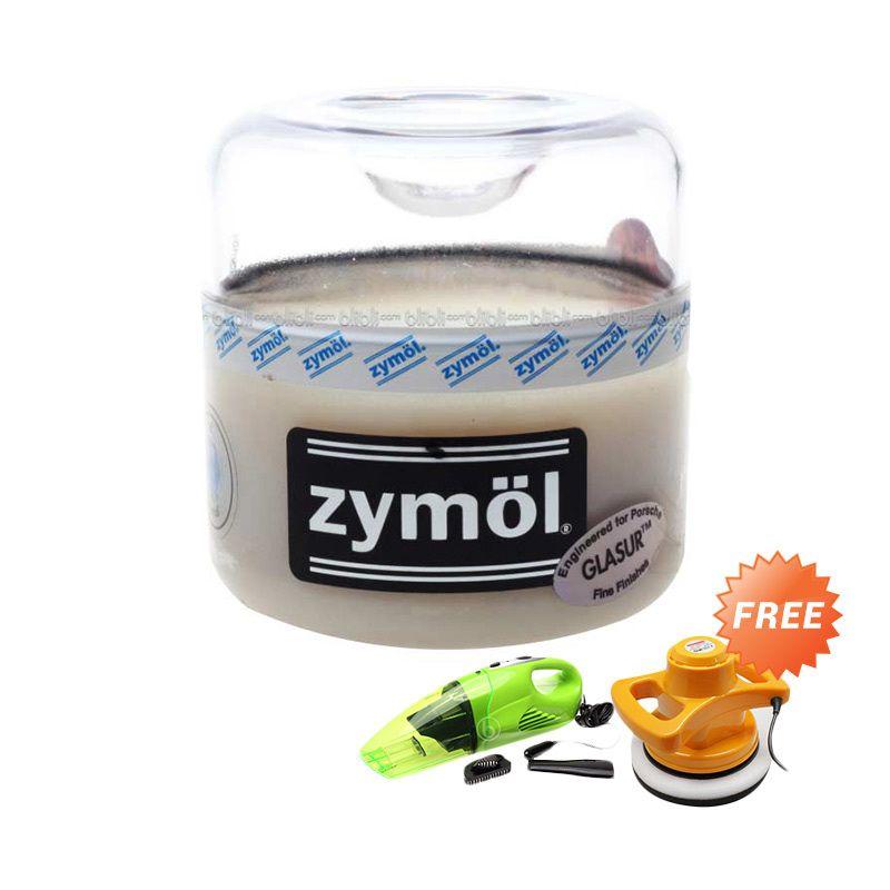 PROMO Zymol Glasur Glaze 8 Oz [Buy 1 Get 2 FREE Kenmaster Vacuum Cleaner KM004 + Kenmaster Car Polisher]