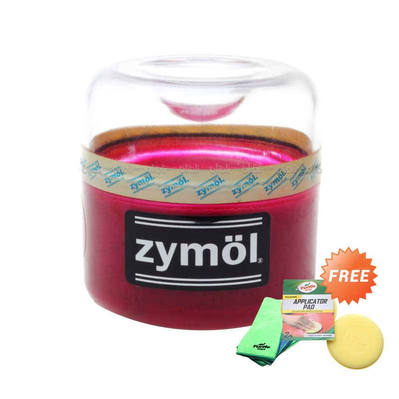 PROMO Zymol Rouge Wax 8 Oz [Buy 1 Get 1 FREE Turtlewax Applicator Pad]