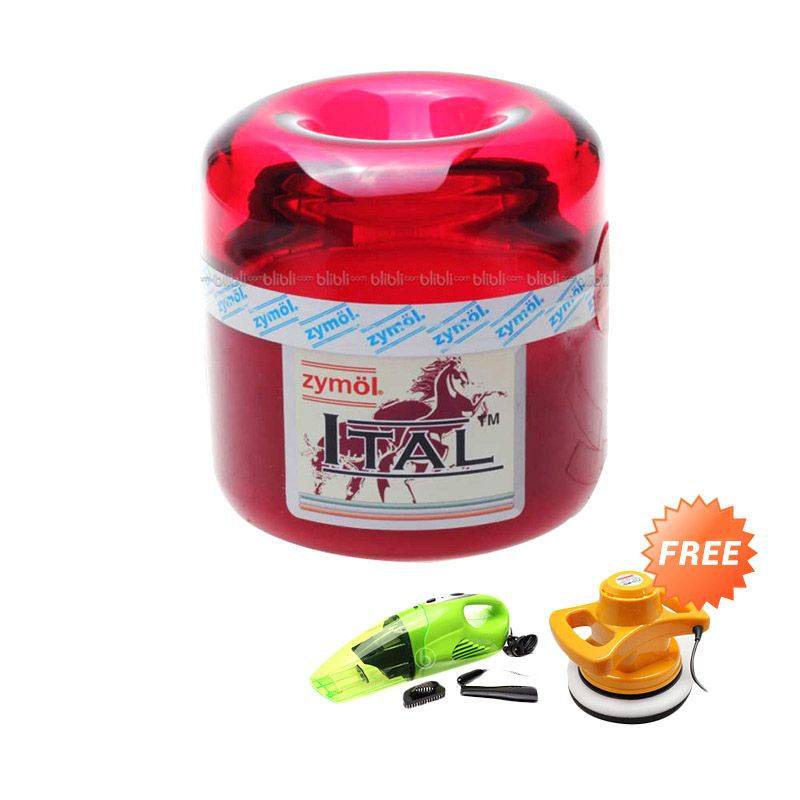 PROMO Zymol Ital Glaze [Buy 1 Get 3 Free Kenmaster Vacuum Cleaner + Car Polisher + Voucher BBM Shell Rp 300.000]