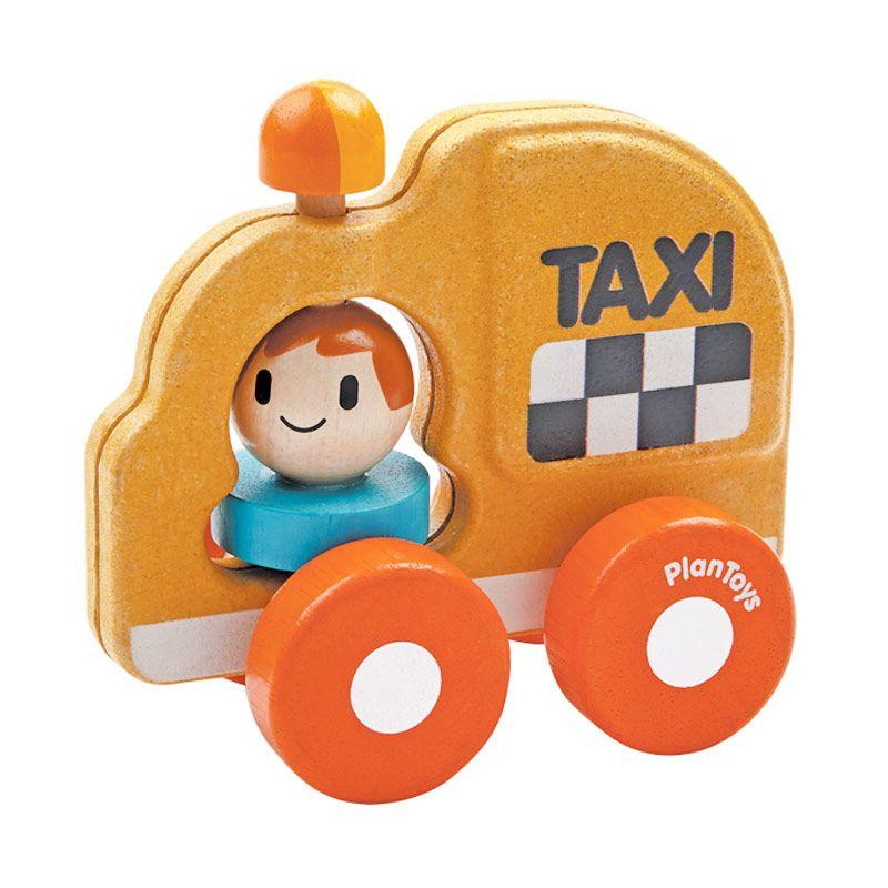 Plan Toys Taxi PT5619 Mainan Anak