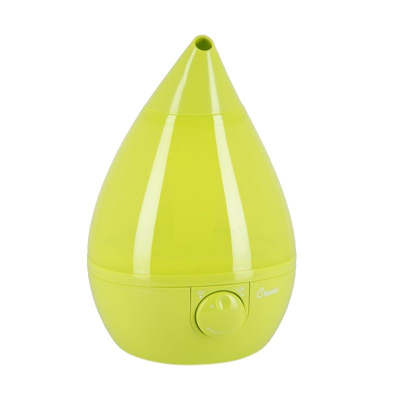 Crane USA Drop Cool Mist Green Humidifier