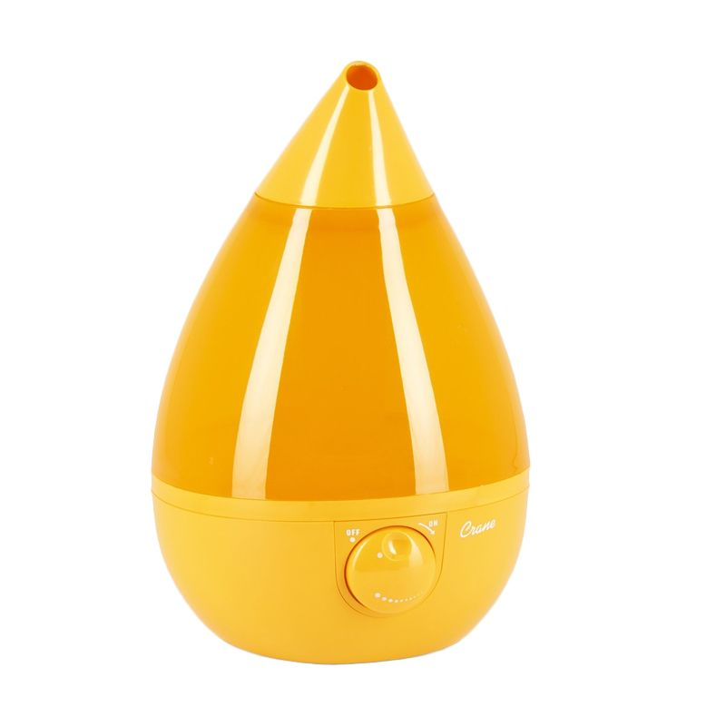 Crane USA Drop Cool Mist Orange Humidifier