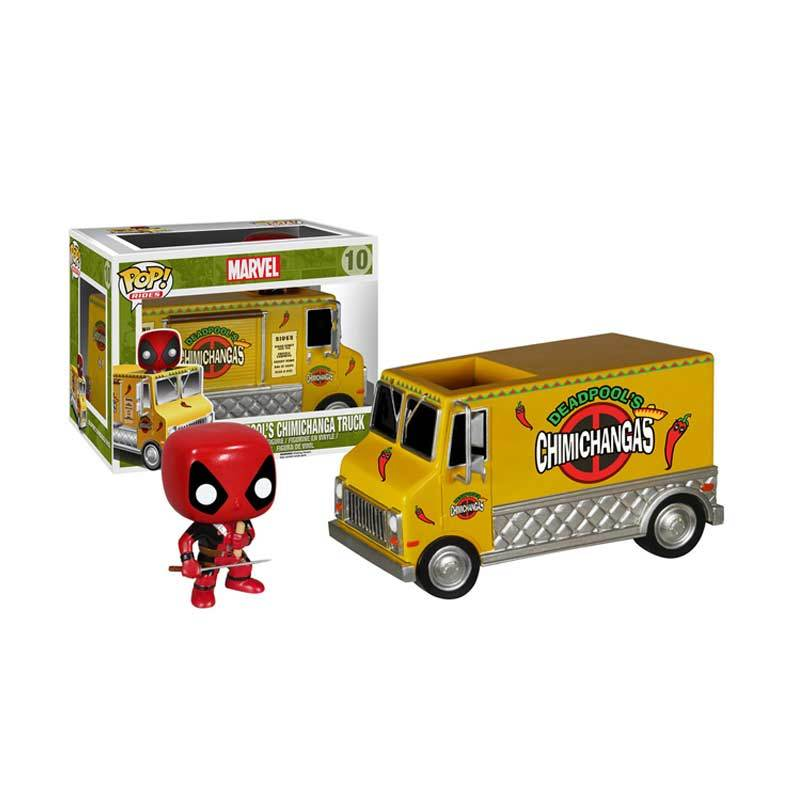 Funko Deadpool's Chimichanga Truck POP! Vinyl 5391 Mainan Anak