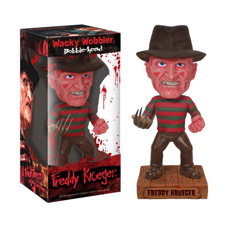 Funko Freddy Krueger Wacky Wobbler 2107 Mainan Anak