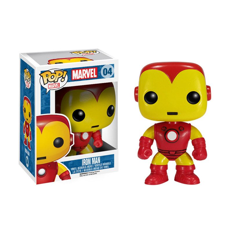 FUNKO Iron Man POP! Vinyl 2274 Mainan Anak