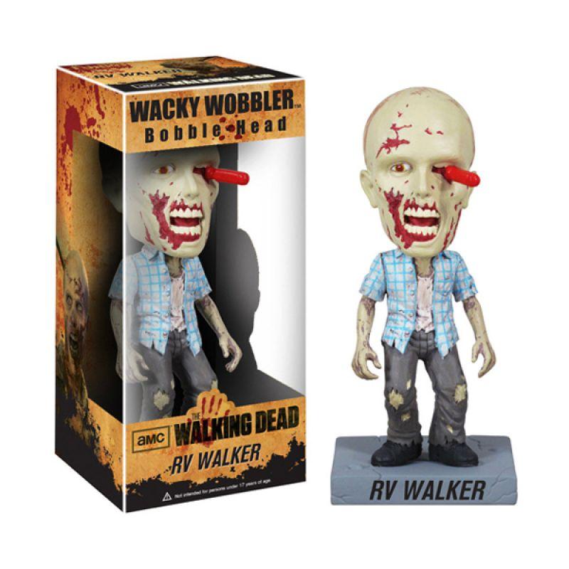 Funko RV Walker Zombie Wacky Wobbler 3038 Mainan Anak
