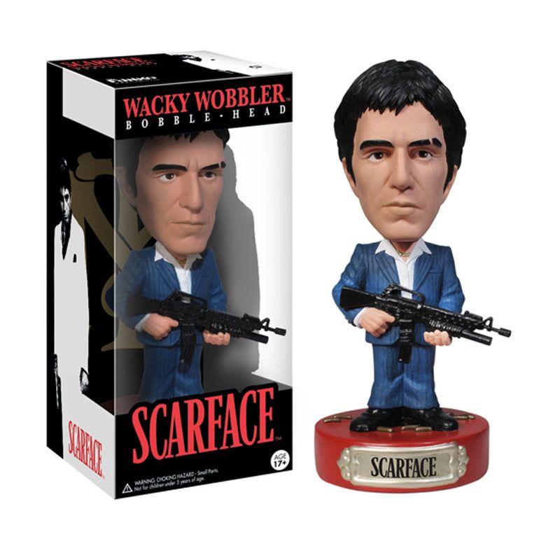 Funko Scarface Wacky Wobbler 2095 Mainan Anak
