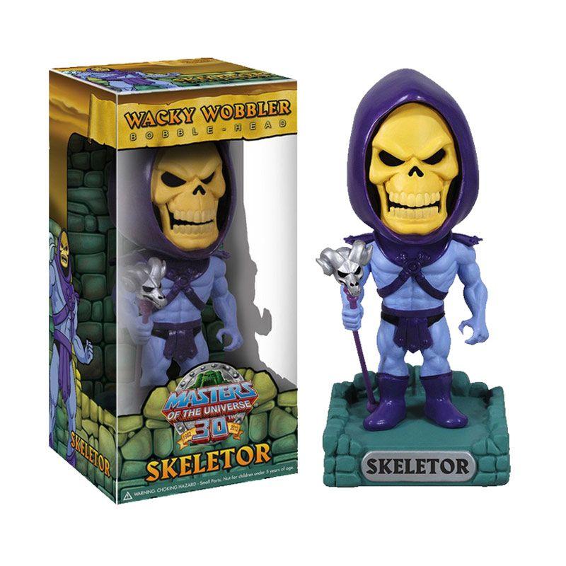 Funko Skeletor Wacky Wobbler 2863 Mainan Anak