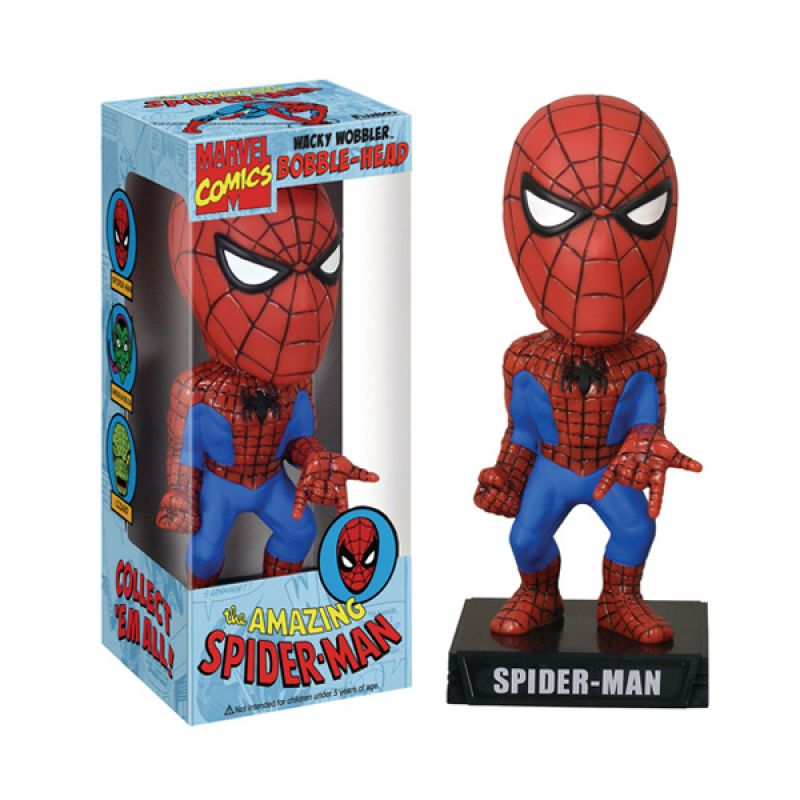 Funko Spiderman Wacky Wobbler 8330 Mainan Anak