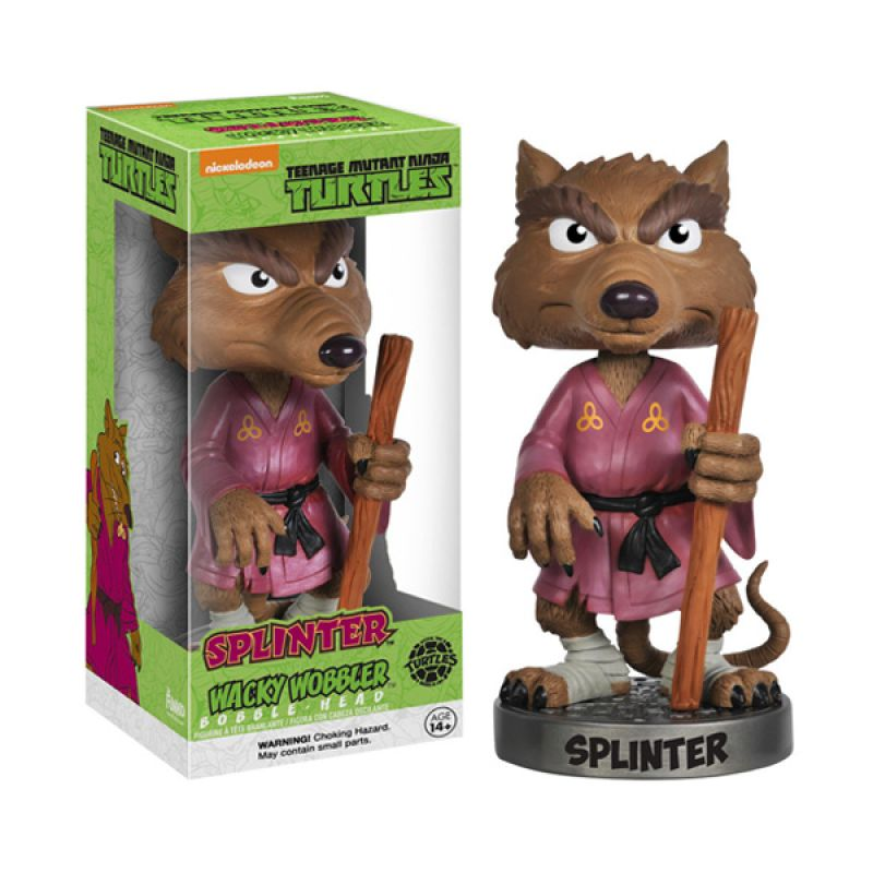 Funko Splinter Wacky Wobbler 3322 Mainan Anak