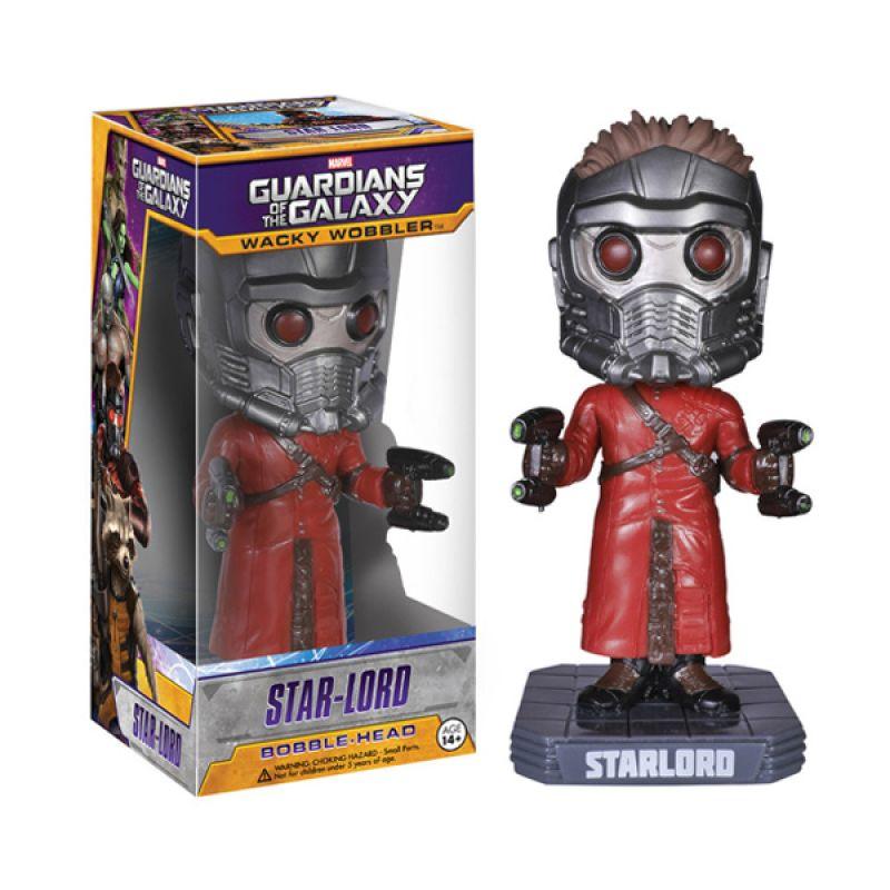 Funko Star Lord Wacky Wobbler 3961 Mainan Anak