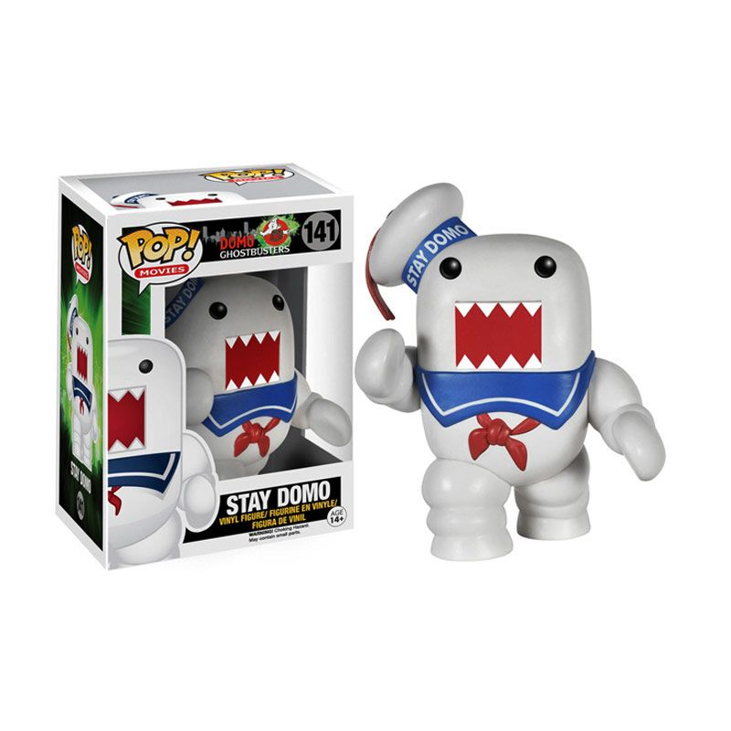 Funko Stay Puft Domo POP! Vinyl 4588 Mainan Anak