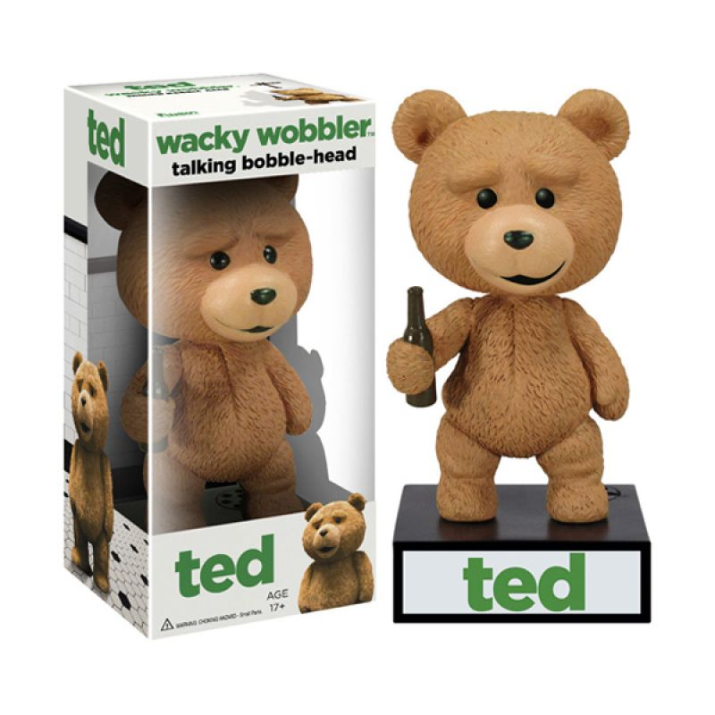 Funko Ted Talking Wacky Wobbler 3092 Mainan Anak