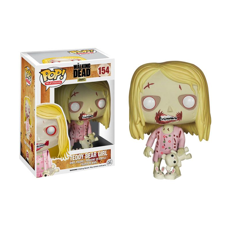 Funko Teddy Bear Girl POP! Vinyl 4244 Mainan Anak