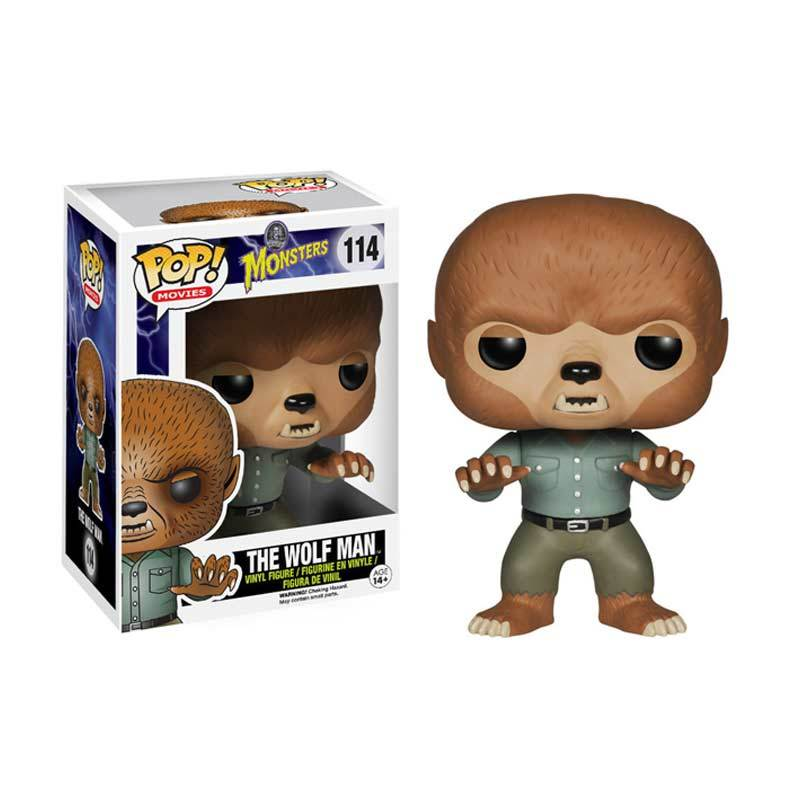 Funko The Wolf Man POP Vinyl 4173 Mainan Anak