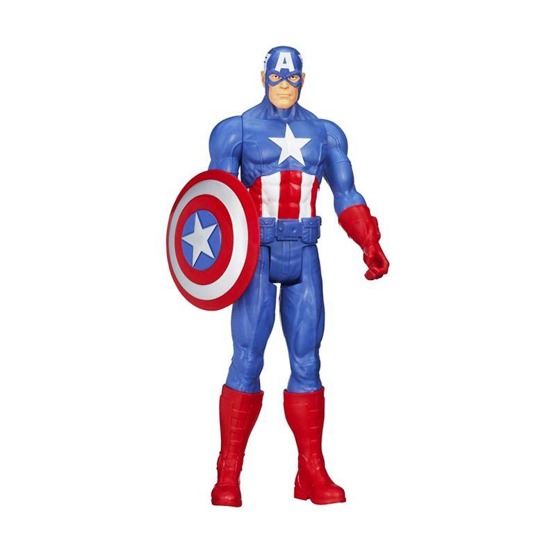 Hasbro Marvel Titan Hero Captain America A6700 Mainan Anak