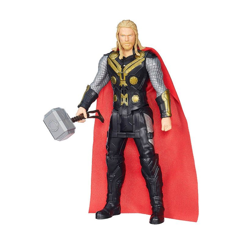 Hasbro Marvel Titan Hero Tech Thor B1496 Mainan Anak