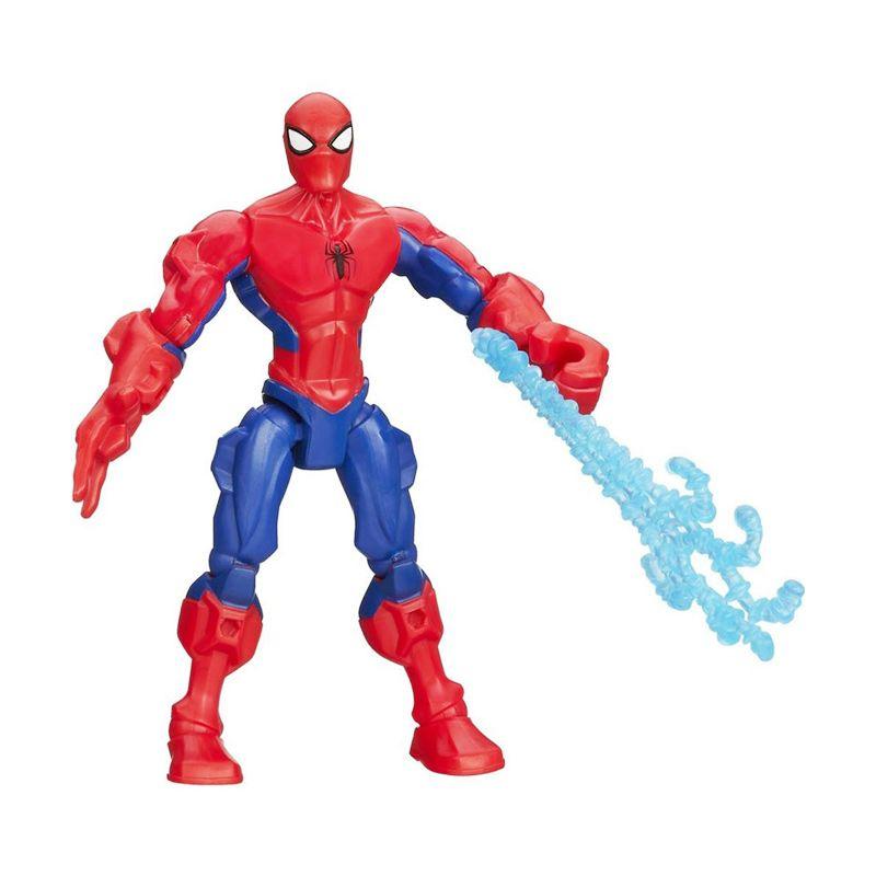Hasbro SpiderMan Marvel Super Hero Mashers Action Figure A6829 Mainan Anak
