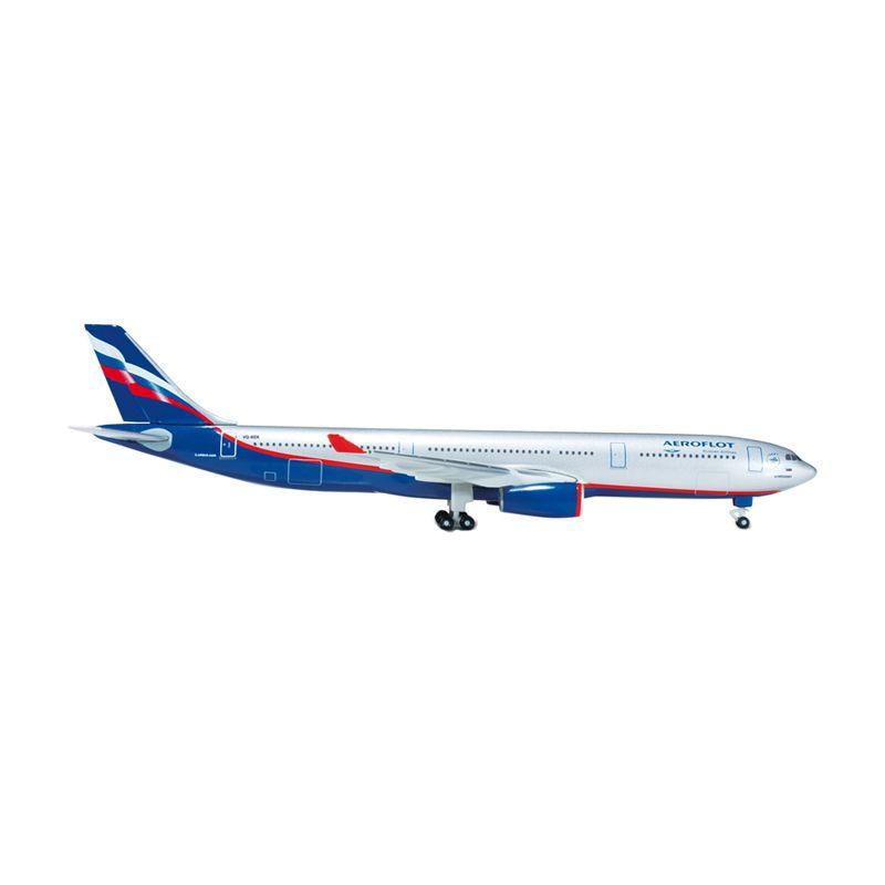 Herpa Aeroflot Airbus A330-300 Diecast [1:500]