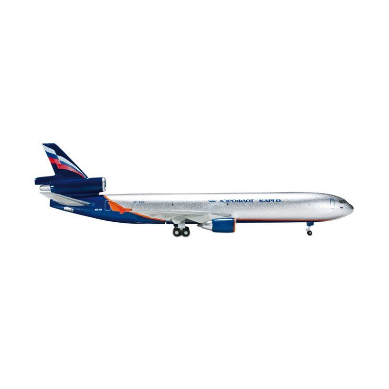 Herpa Aeroflot McDonnell Douglas MD-11F Diecast [1:500]