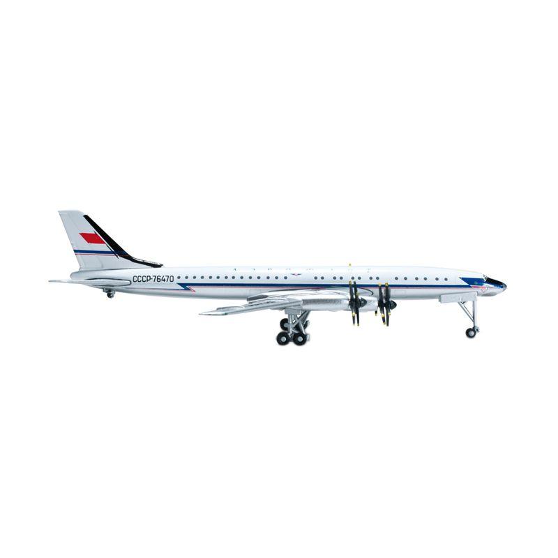 Herpa Aeroflot Tupolev TU-114 Diecast [1:500]