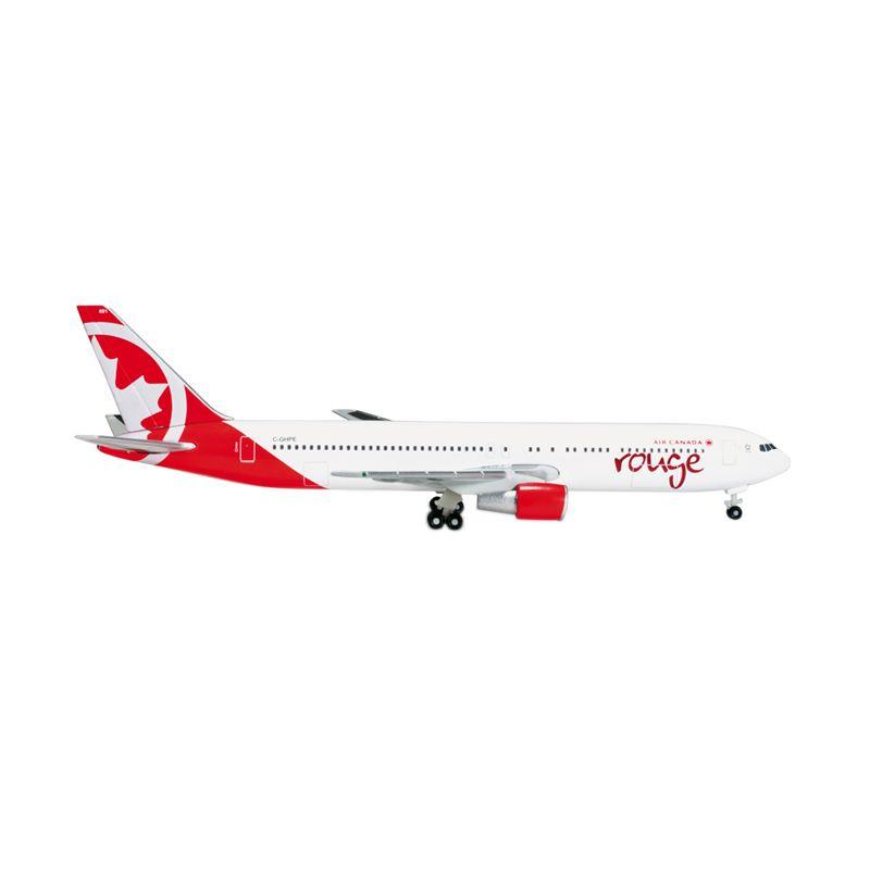 Herpa Air Canada Rouge Boeing 767-300 Diecast [1:500]