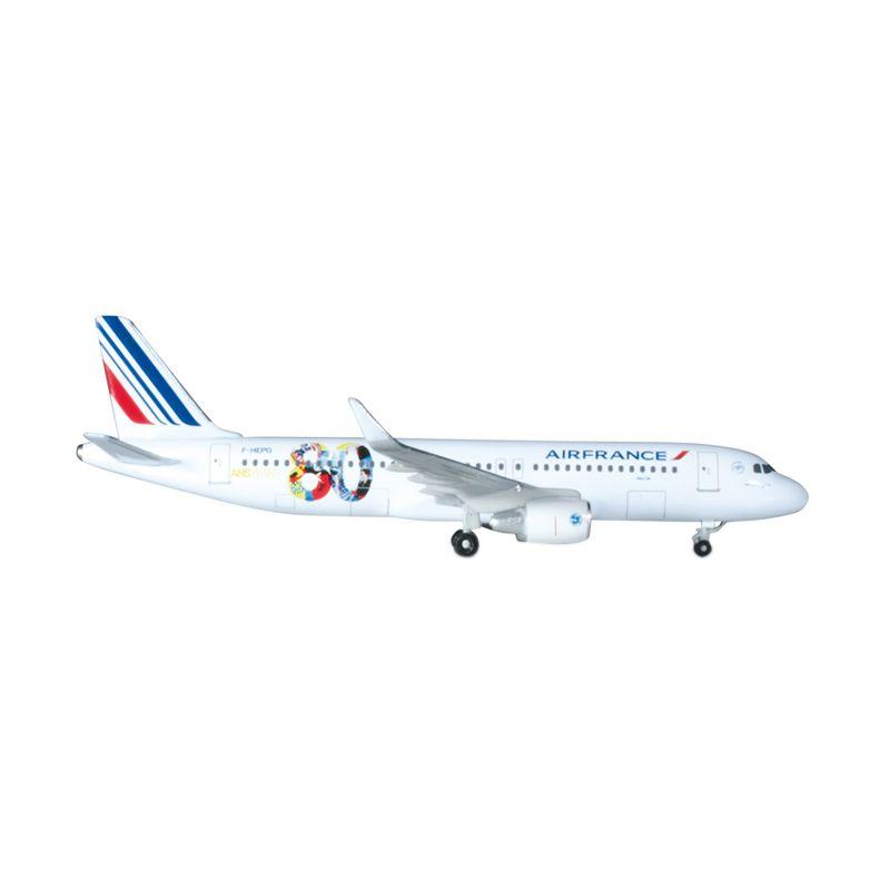Herpa Air France Airbus A320 80th Anniversary Diecast [1:500]