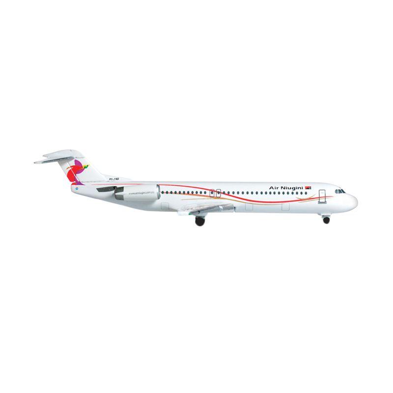 Herpa Air Niugini Fokker 100 Diecast [1:500]