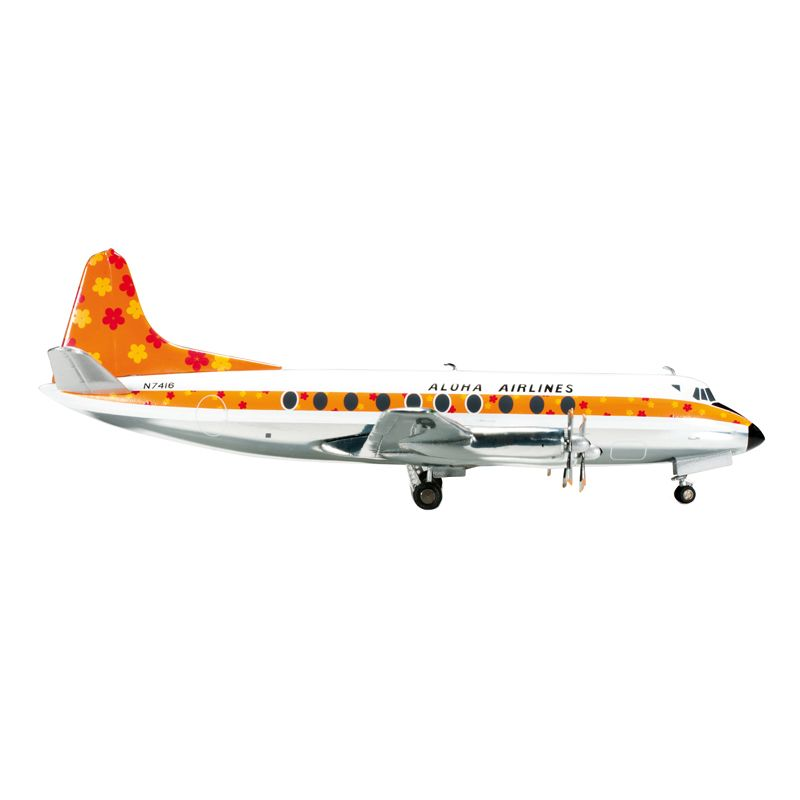 Herpa Aloha Airlines Vickers Viscount 700 Diecast [1:200]