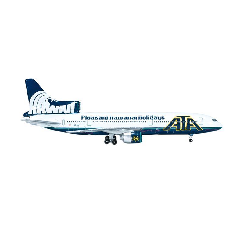 Herpa American Trans Air Lockheed L-1011-1 TriStar Pleasant Hawaiian Holidays Diecast [1:500]